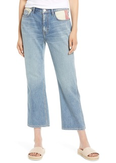Current/Elliott The Five-Pocket Vanessa Crop Straight Leg Jeans (Whirlpool)