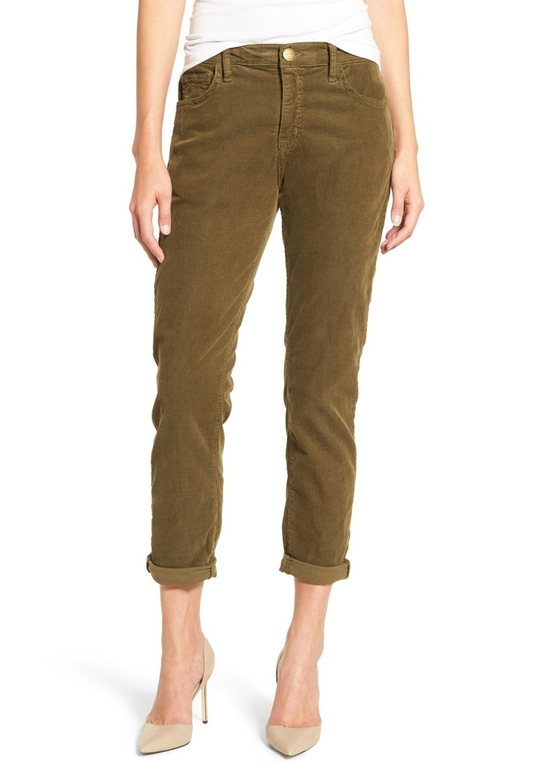 Current/Elliott 'The Fling' Boyfriend Corduroy Pants