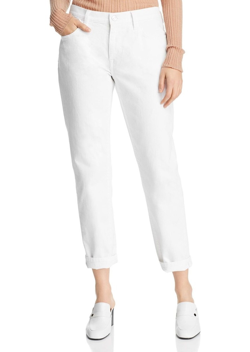 Current/Elliott The Fling Boyfriend Jeans in 0 Clean White