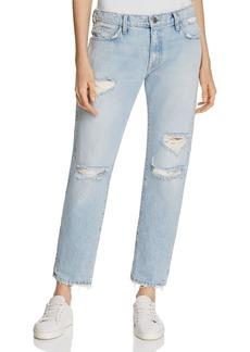 Current/Elliott The Fling Boyfriend Jeans in Alta Destroy