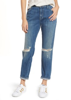 Current/Elliott The Fling Boyfriend Jeans (Isley Destroy)