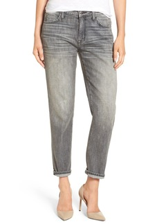 Current/Elliott 'The Fling' Boyfriend Jeans (Metal Washed Black)