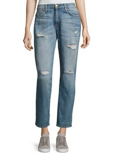 Current/Elliott The Fling Cropped Ankle Jeans