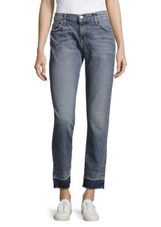 Current/Elliott The Fling Faded Whiskered Jeans