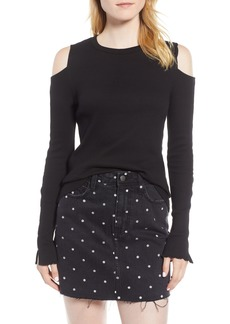 Current/Elliott The Going Steady Cold Shoulder Top