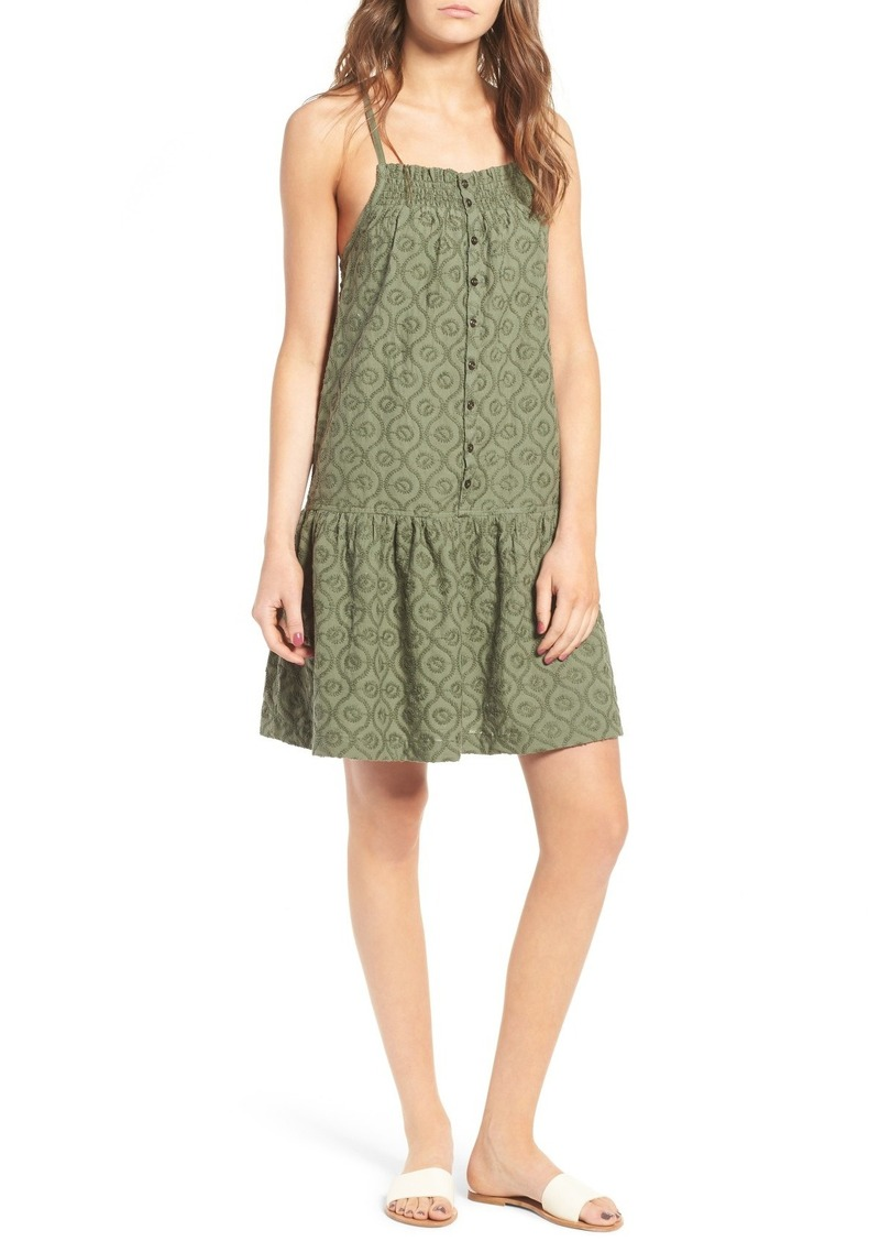 Current/Elliott The Hazel Embroidered Cotton Dress