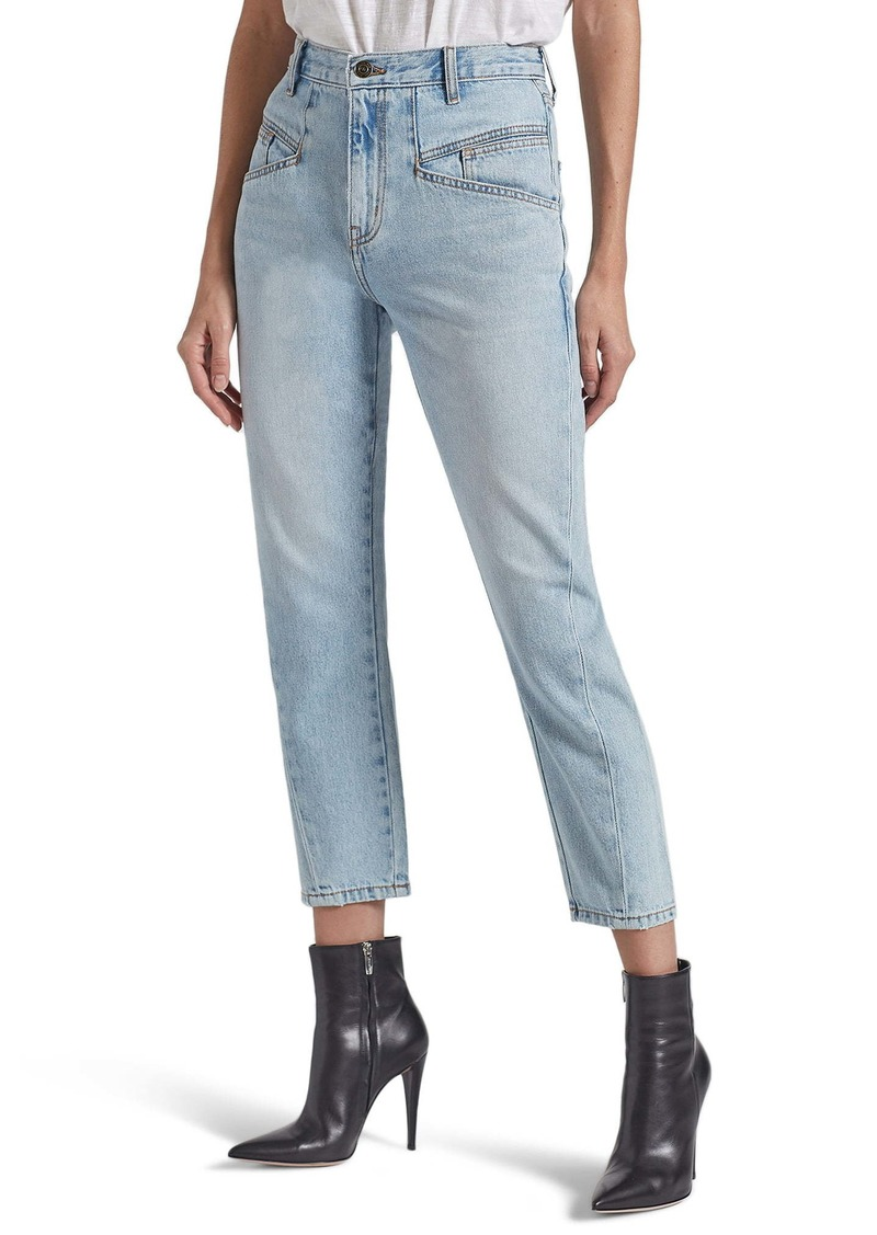Current/Elliott The Helix High Waist Crop Jeans (Wentworth)