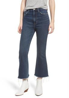 Current/Elliott The High Waist Kick Jeans (Peacenik with Raw Hem)