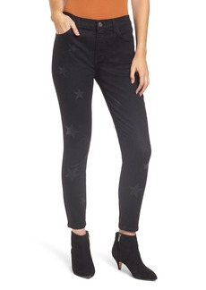 Current/Elliott The High Waist Stiletto Crop Skinny Jeans (Vineland with Stars)