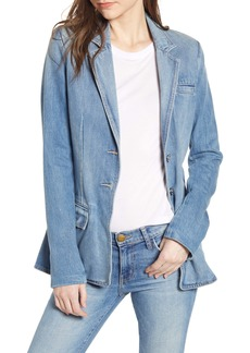 Current/Elliott The Highball Denim Blazer