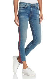 Current/Elliott The Highwaist Stripe Jeans in Powell