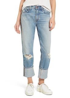Current/Elliott The His Boyfriend Jeans (Pinyon Destroy Wash)