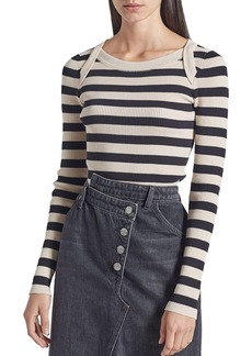 Current/Elliott The It Girl Striped Top
