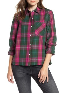 Current/Elliott The Ivie Plaid Shirt