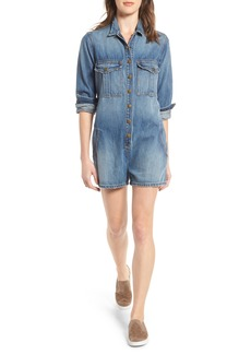 Current/Elliott The Jamie Denim Romper