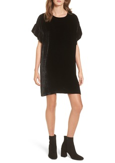 Current/Elliott The Janie Velvet Shift Dress