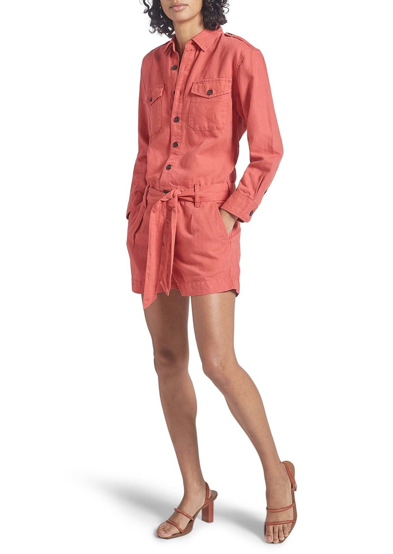 Current/Elliott The Kaya Long Sleeve Romper