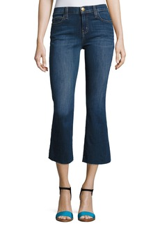 Current/Elliott The Kick Cropped Flared Jeans