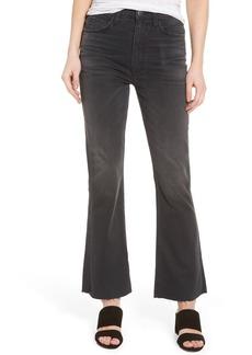 Current/Elliott The Kick High Waist Crop Flare Jeans (Edgebrook)