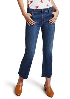 Current/Elliott The Kick High Waist Crop Flare Jeans (Ellis)