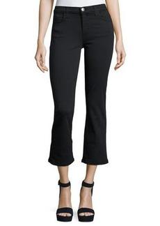 Current/Elliott The Kick Mid-Rise Stretch-Denim Jeans