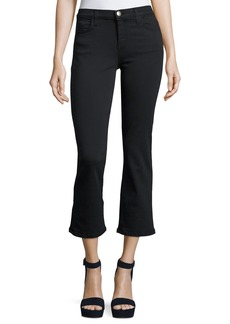 Current/Elliott The Kick Mid-Rise Stretch-Denim Jeans