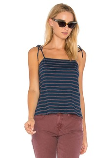 Current/Elliott The Knit Tie Cami in Blue. - size 1 / S (also in 2 / M,3 / L)