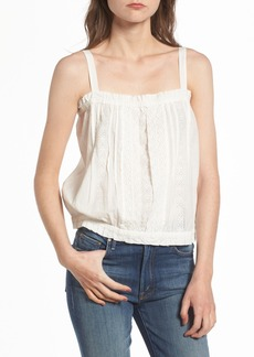 Current/Elliott The Lace Cotton Tank