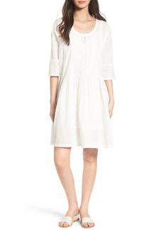 Current/Elliott The Lacey Cotton Trapeze Dress