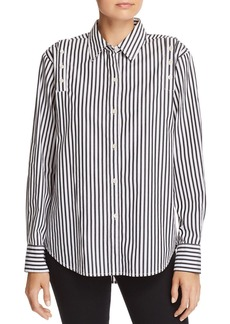 Current/Elliott The Loretta Striped Shirt