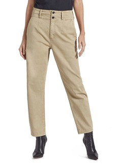 Current/Elliott The Melia Straight-Leg Pants