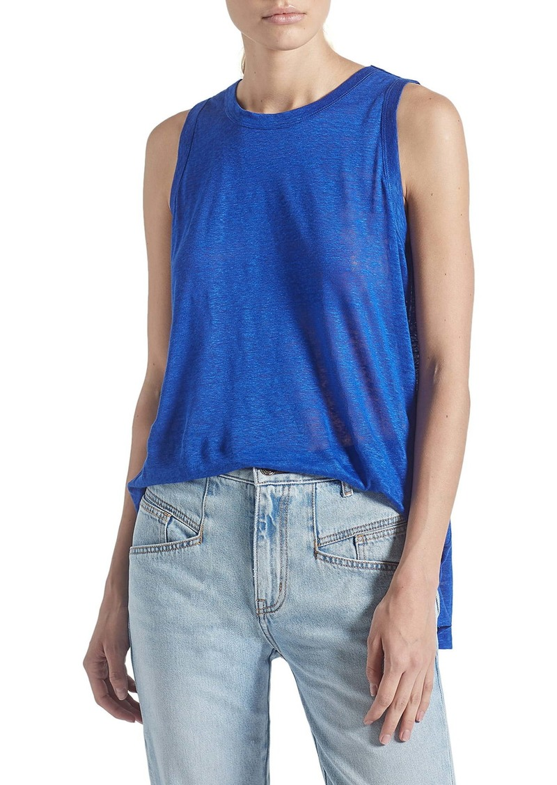 Current/Elliott The Muscle Linen Tank