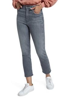 Current/Elliott The Original High Waist Star Stripe Cigarette Jeans (Luna Stars)