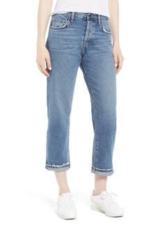 Current/Elliott The Original Straight Leg Crop Jeans (Grassland)