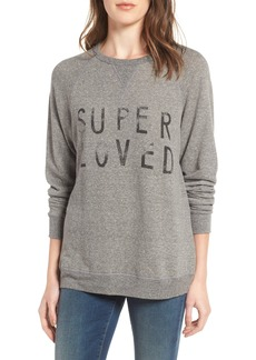 Current/Elliott 'The Oversized' Sweatshirt