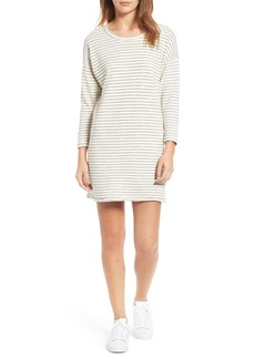 Current/Elliott The Painter Stripe T-Shirt Dress