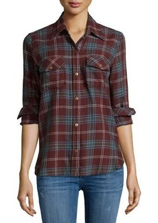 Current/Elliott The Perfect Long-Sleeve Shirt