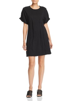 Current/Elliott The Pintucked T-Shirt Dress