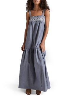 Current/Elliott The Rancher Chambray Maxi Dress