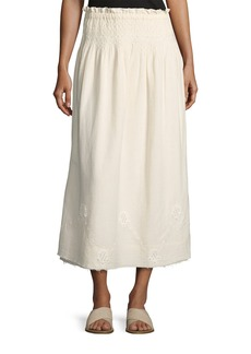 Current/Elliott The Rancher Convertible Maxi Skirt