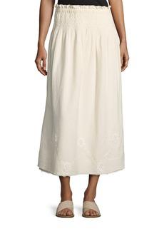Current/Elliott The Rancher Convertible Maxi Skirt