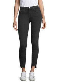 Current/Elliott The Raw Hem Stiletto Skinny Jeans