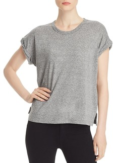 Current/Elliott The Rolled-Cuff Tee