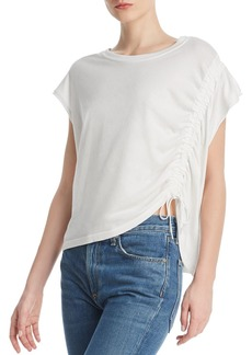 Current/Elliott The Ruched Drawstring Tee