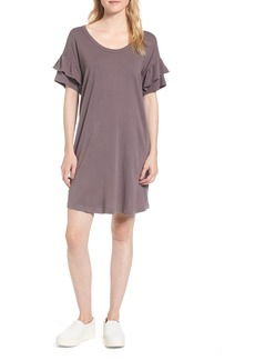 Current/Elliott The Ruffle Roadie T-Shirt Dress