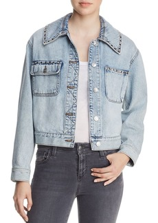 Current/Elliott The Sammy Studded Denim Jacket