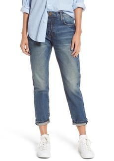 Current/Elliott The Selvedge High Waist Crop Jeans (Hemet)