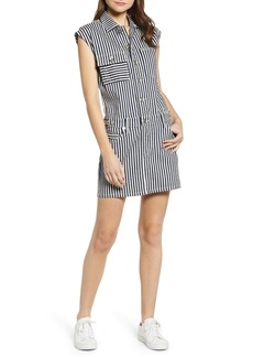 Current/Elliott The Sleeveless Stripe Dress