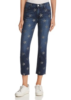 Current/Elliott The Slim Crop Jeans in The Rollin' with Stars