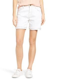 Current/Elliott The Slouchy Cutoff Denim Shorts (2 Weeks Worn White)